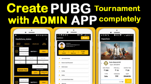 Pubg Tournament App Source Code