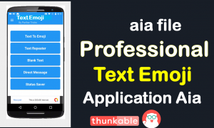 Professional Emoji Application AIA file