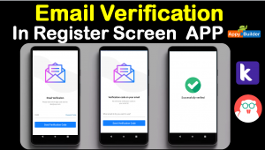 add Email Verification system aia file Source code