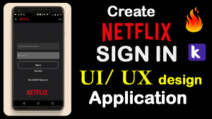 Buy Login system Like Netflix Application Aia file