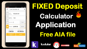 Fixed Deposit Application AIA file